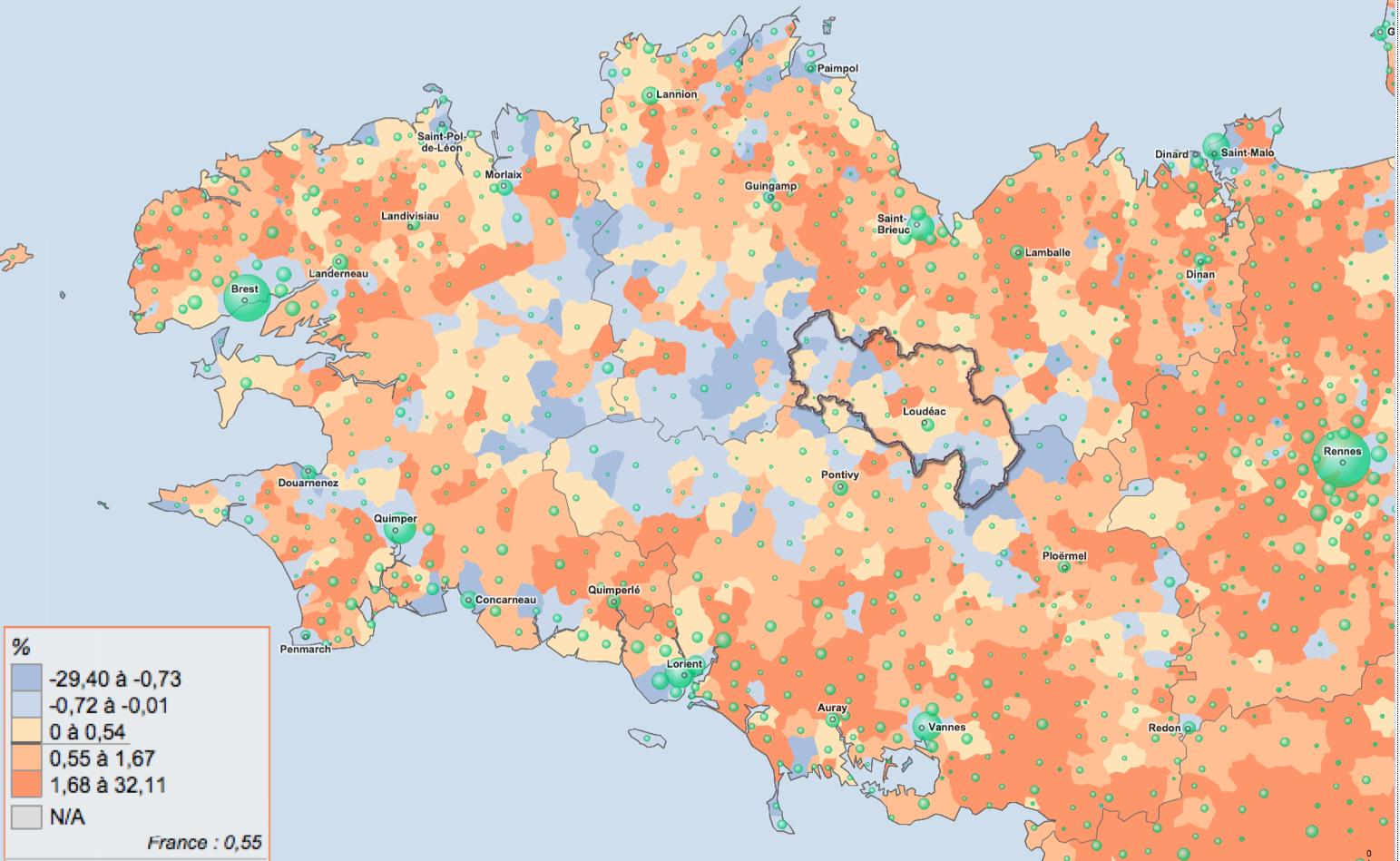 LA CIDERAL (Côte-d'Armor, 33 communes) LANCE SON PLU INTERCOMMUNAL !